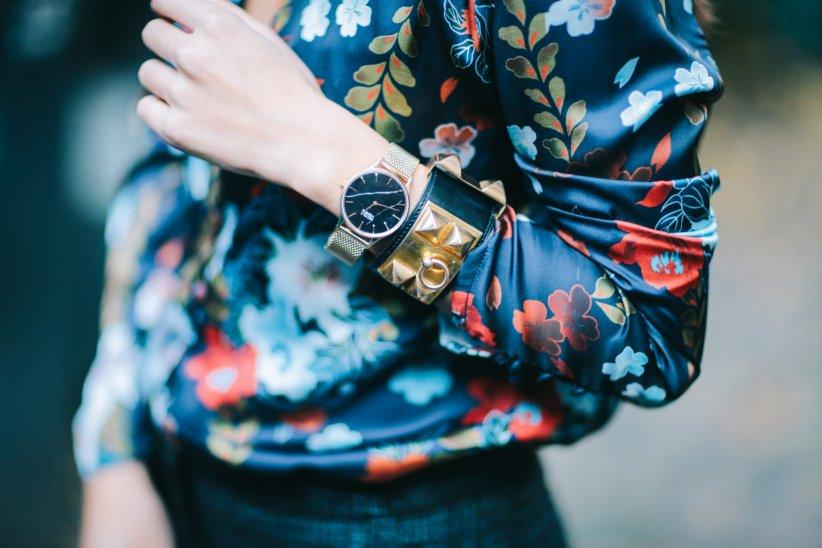 Un cadran effet marbré pour les fashion addicts