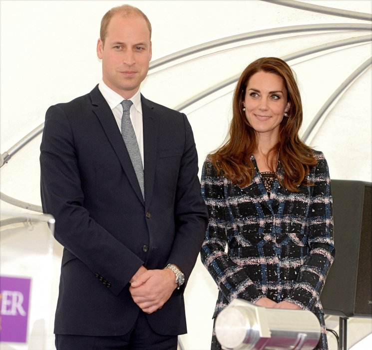 Le prince William et Kate Middleton visitent l\
