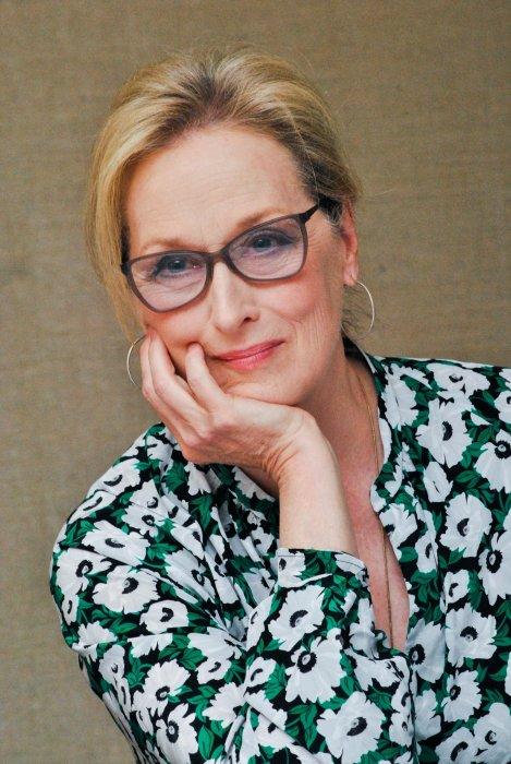 Meryl Streep en conférence de presse à New York, le 11 juillet 2016.