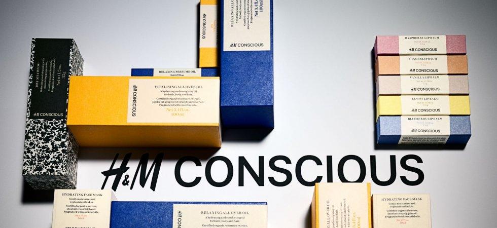 H&M lance ses cosmétiques bio