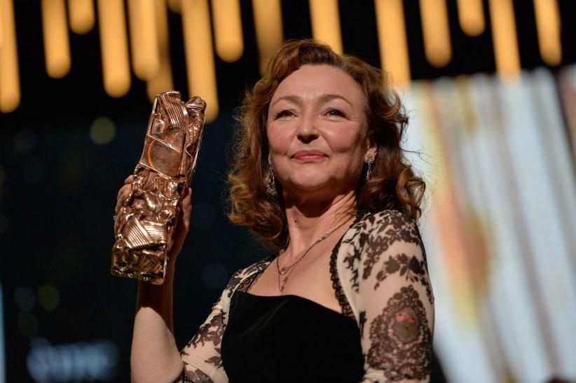 Catherine Frot a été récompensée César de la meilleure actrice, le 26 février 2016 à Paris.