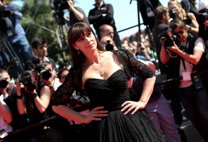 Monica Bellucci lors du 67e Festival du film de Cannes, le 18 mai 2014.
