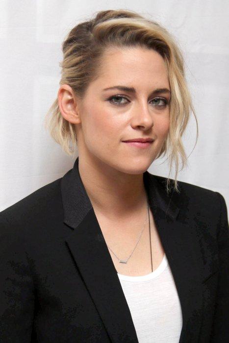 Kristen Stewart en conférence de presse pour le film Café Society à New York, le 12 juillet 2016.