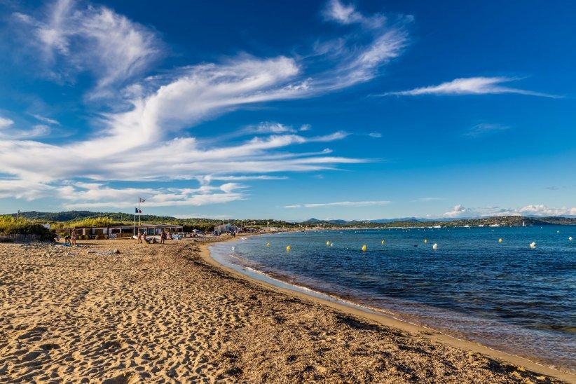 La fameuse plage de Pampelonne, à Ramatuelle, est un spot très apprécié des stars.