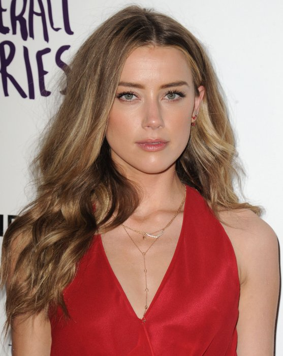 Amber Heard à la projection du film The Adderall diaries à Los Angeles, le 12 avril 2016.
