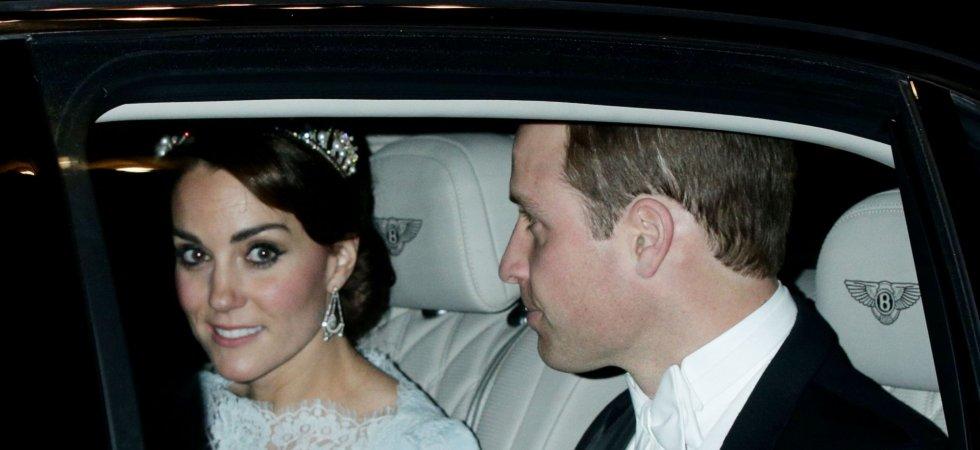 Kate Middleton rend hommage à Lady Diana en portant sa tiare