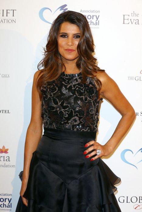 Karine Ferri assiste à la soirée Global Gift Gala à Paris, le 12 mai 2014.