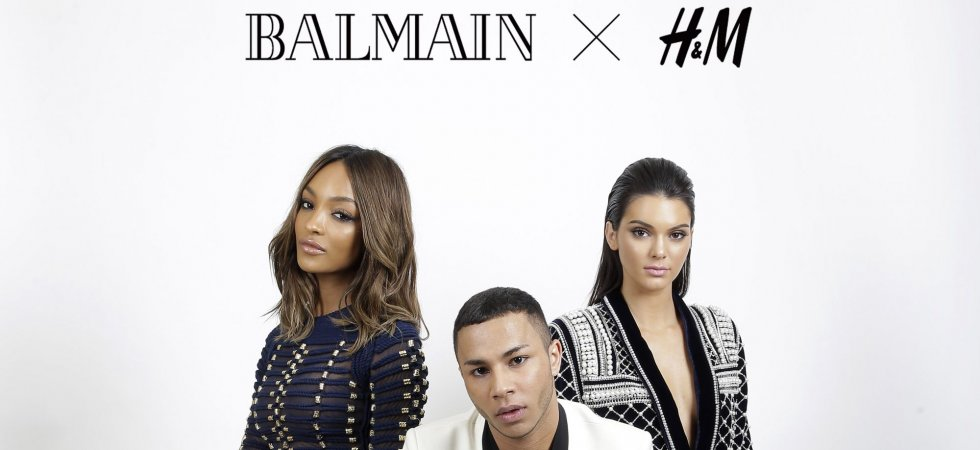 Balmain : les premières pièces pour H&M dévoilées !