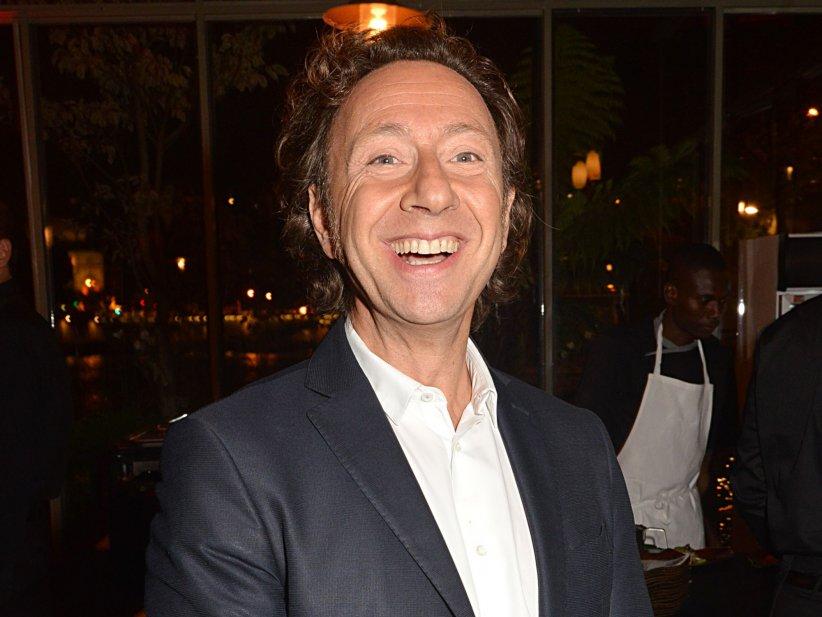 Stéphane Bern, lors de la soirée Dîner Sensoriel, à Paris, le 15 septembre 2015.