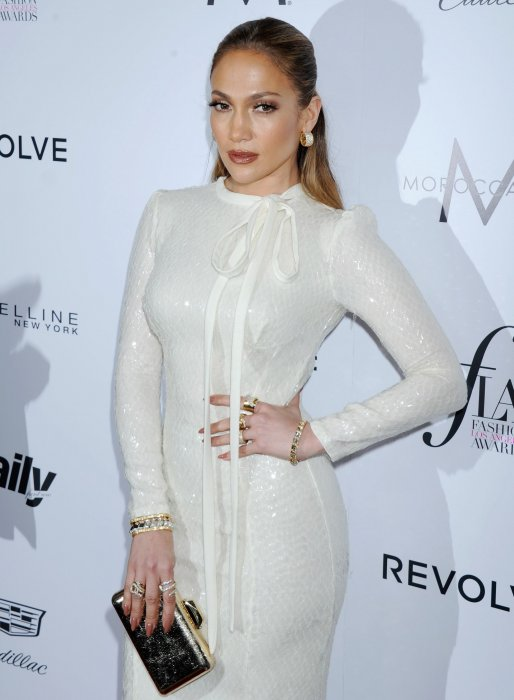 Jennifer Lopez aux Daily Front Row\