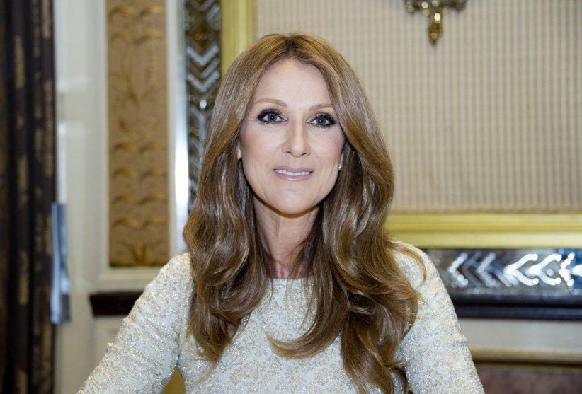 Celine Dion fait la promotion de son album  Love me back to life , à New York, en octobre 2013.