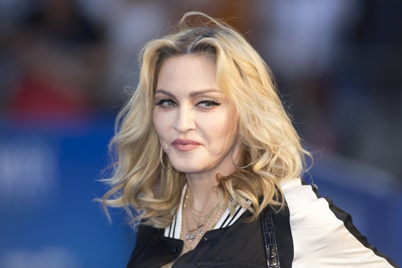 "Madonna assiste à la première de ""The Beatles : Eight Days a Week"" à Londres, le 15 septembre 2016."