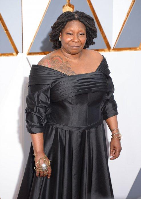 Whoopi Goldberg, lors de la 88e cérémonie des Oscars à Hollywood, le 28 février 2016.