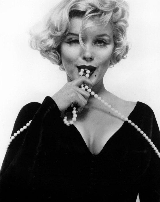 """Publicité de Marilyn Monroe pour le film """"Certains l\"""