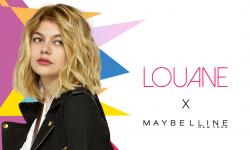 Louane est la nouvelle égérie Maybelline