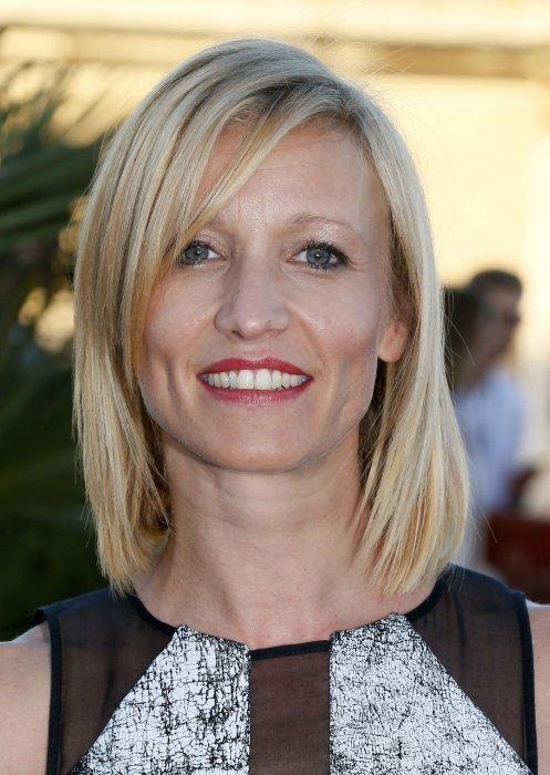 Alexandra Lamy lors du 17ème Festival de la fiction TV de La Rochelle, le 12 septembre 2015.