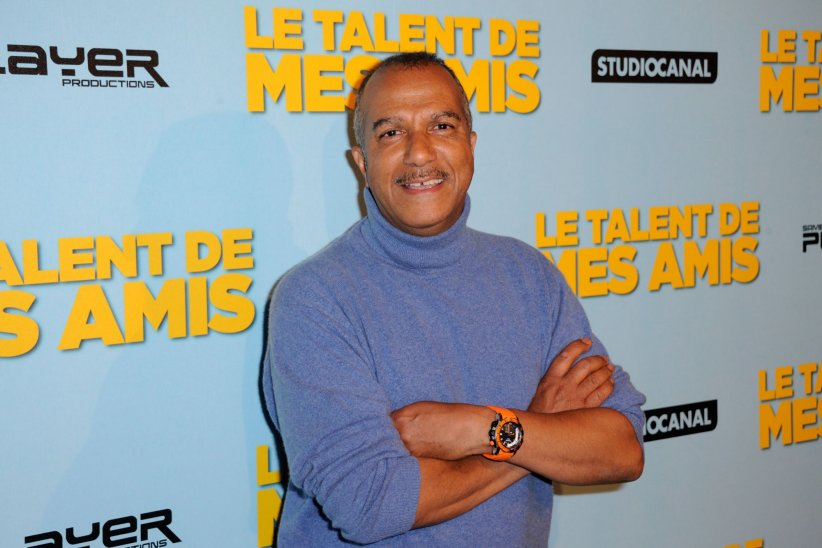 Pascal Légitimus pour la première de  Le Talent De Mes Amis  au Théâtre Bobino à Paris, en mai 2015.