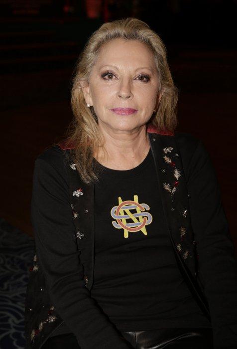 Veronique Sanson à la céremonie de remise des Grands Prix Sacem aux Folies Bergère à Paris, le 30 novembre 2015.