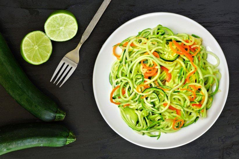 Les spaghettis de légumes pour mettre du relief dans l\