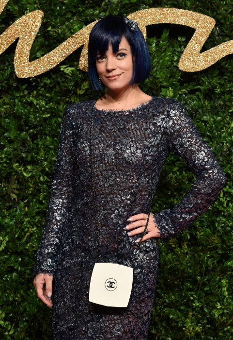Lily Allen lors des British Fashion Awards à Londres, le 23 novembre 2015.