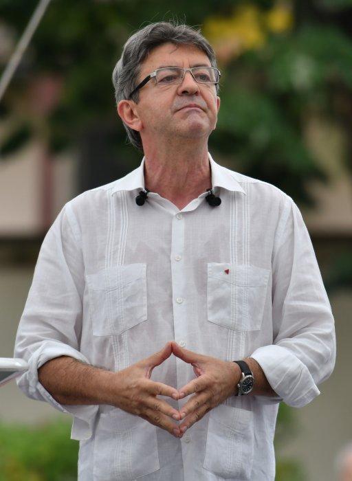 Jean-Luc Mélenchon lors d\