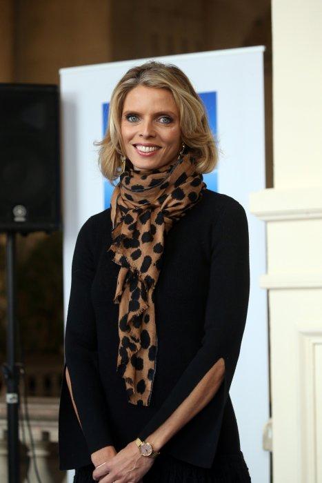 Sylvie Tellier lors de la présentation officielle des candidates à l\