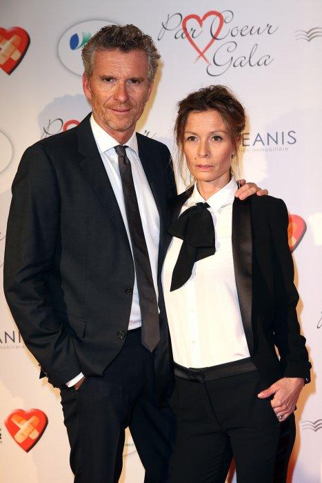 Denis Brogniart et sa femme Hortense assistent au gala des 10 ans de l\