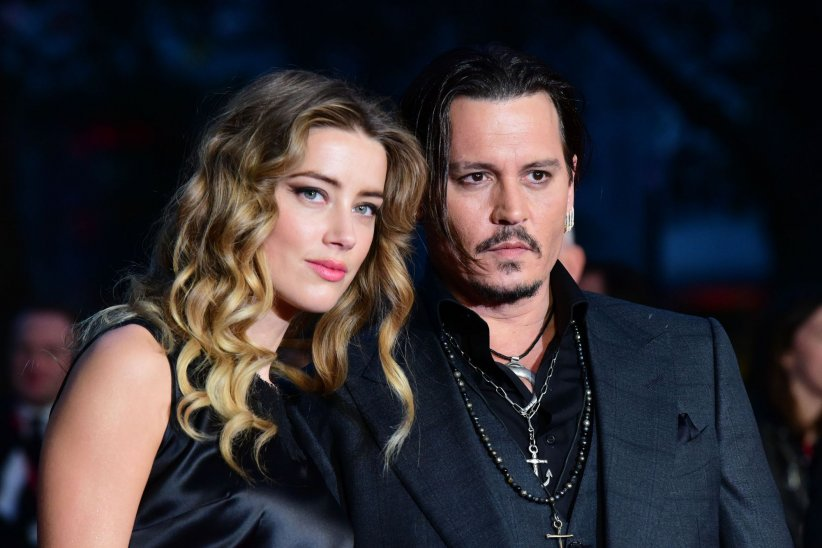 Johnny Depp et Amber Heard assistent à l\