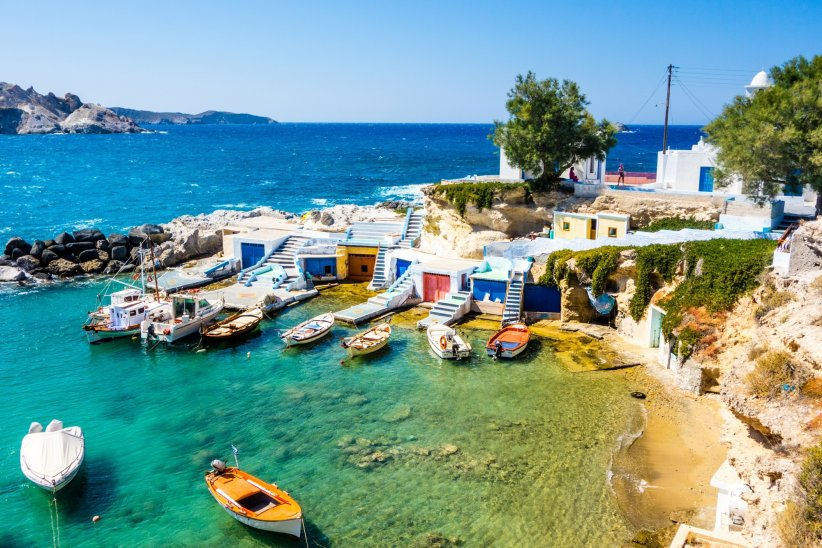 Les îles de Milos et Sifnos en Grèce