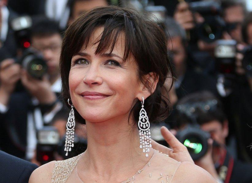 Sophie Marceau, en marge du Festival de Cannes, en mai 2015.
