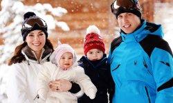 George et Charlotte : 1ères vacances au ski !