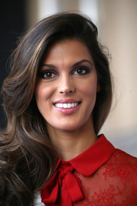 Iris Mittenaere lors de la présentation officielle des Miss, à Montpellier, le 3 décembre 2016.