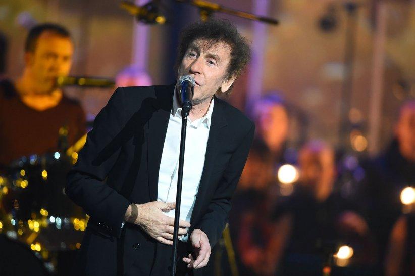 Alain Souchon lors des Victoires de la Musique à Paris, en février 2015.