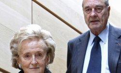 Bernadette Chirac redoute la mort de son mari