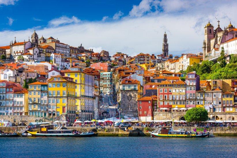 Porto : 2h10 en avion