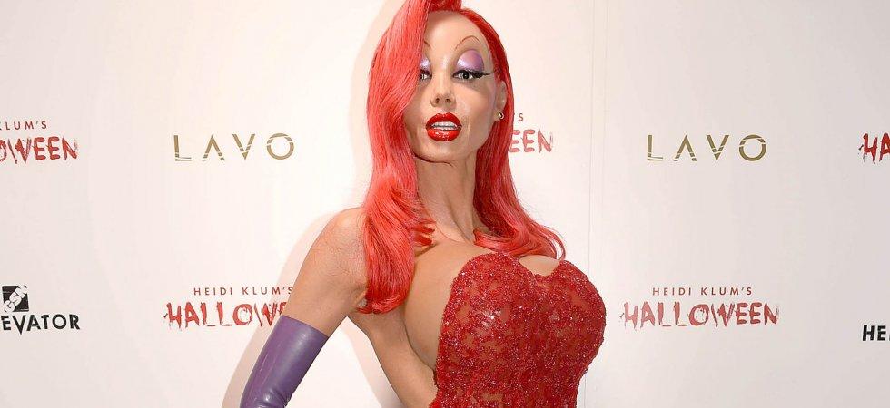 Heidi Klum : méconnaissable dans son costume d'Halloween