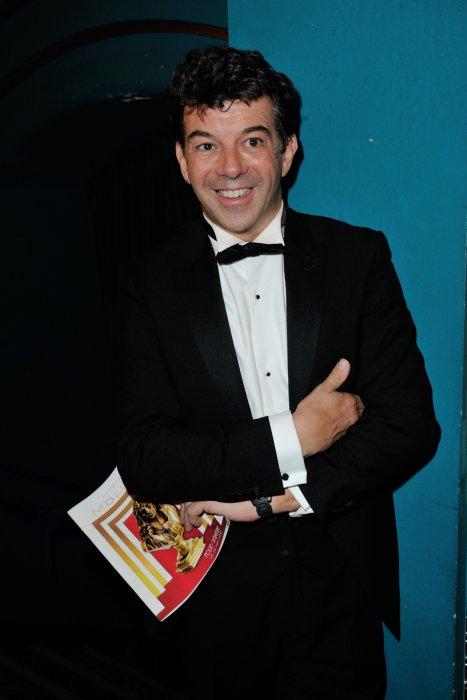 Stéphane Plaza à la 28ème Nuit des Molières, aux Folies Bergères à Paris, le 23 mai 2016.