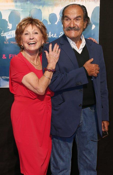 Marion Game et Gérard Hernandez au Festival de la fiction TV à La Rochelle, le 11 septembre 2013.