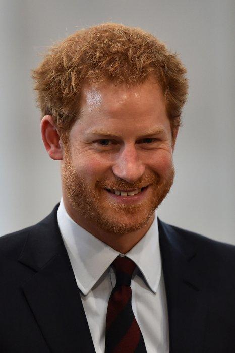 Le prince Harry assiste à une cérémonie organisée pour les 90 ans de la reine Elizabeth II, à Londres, le 10 juin 2016.