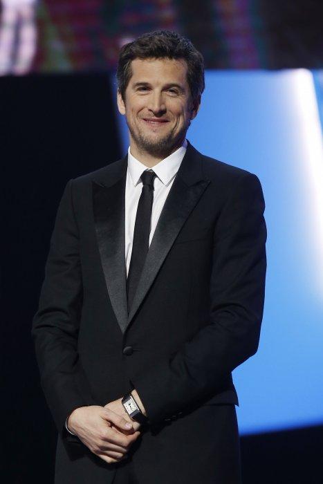 Guillaume Canet lors de la 40e cérémonie des César au théâtre du Châtelet à Paris, le 20 février 2015.