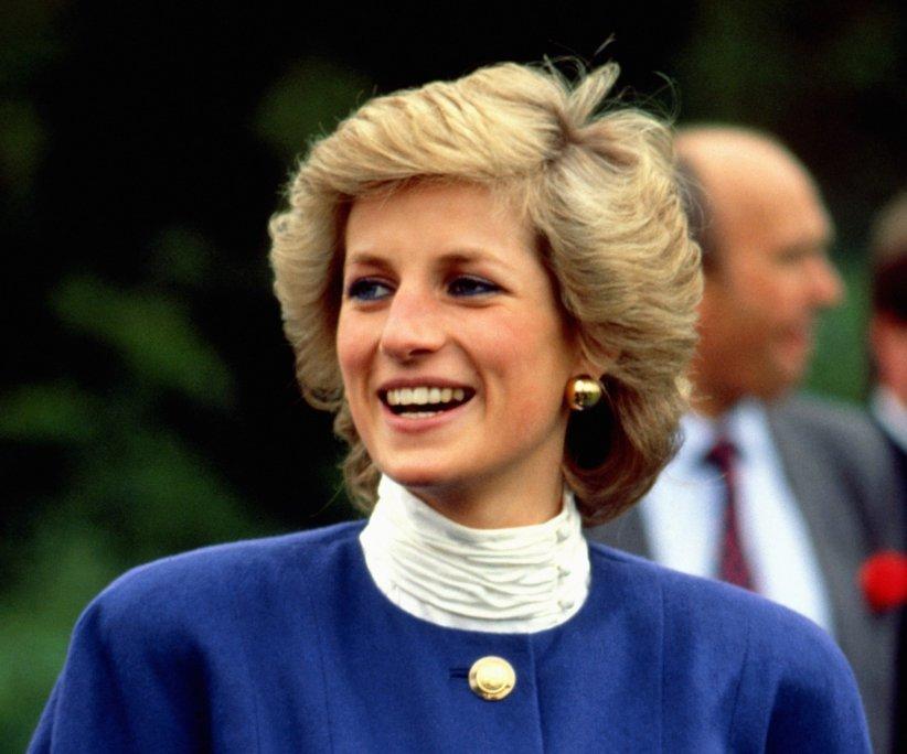 La princesse Diana lors d\
