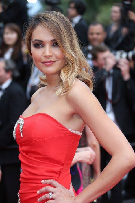 Valérie Bègue lors du 68e Festival de Cannes, le 23 mai 2015.