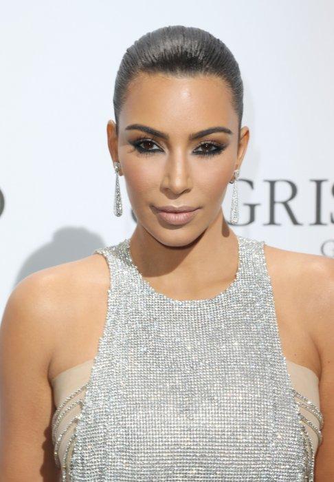 Kim Kardashian en marge du 69e Festival de Cannes , le 17 mai 2016.