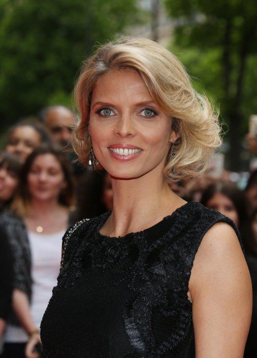 Sylvie Tellier assiste à la 7e Édition du Global Gift Gala à Paris, le 9 mai 2016.