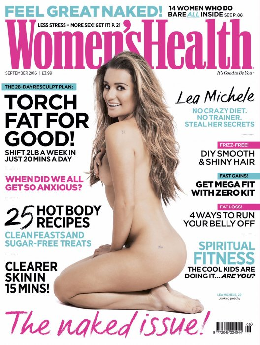 Lea Michele fait la Une du magazine Women\