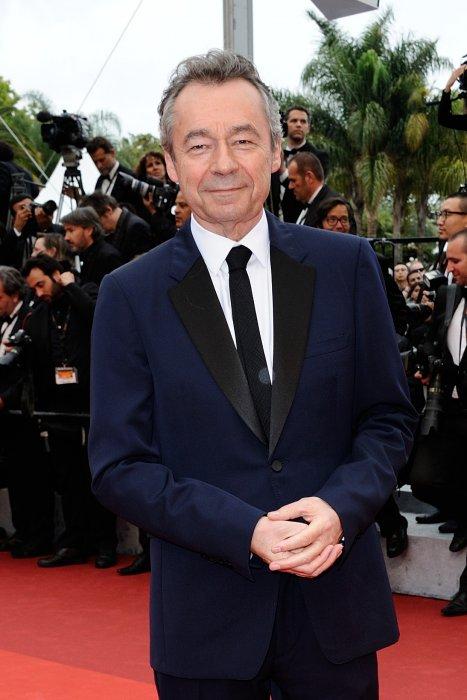 Michel Denisot, sur le tapis rouge du Festival de Cannes, le 11 mai 2016.