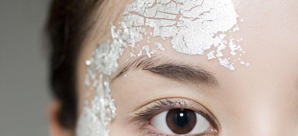 Masques métalliques, nouvelle tendance beauté