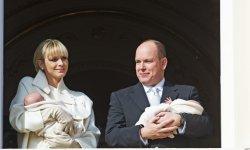 Le prince Albert fier de ses jumeaux surdoués