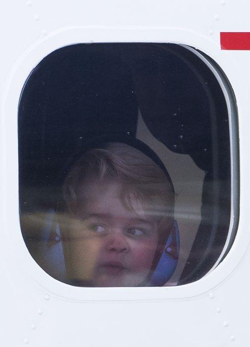 Le prince George, dans l\