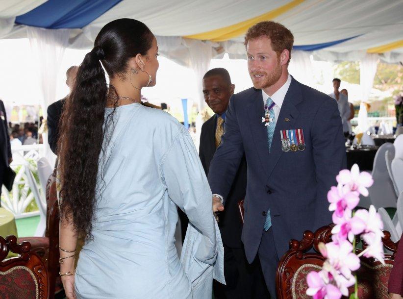 Le prince Harry rencontre Rihanna lors du 50e anniversaire de l\